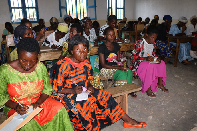 Church helps train marginalized women, youth