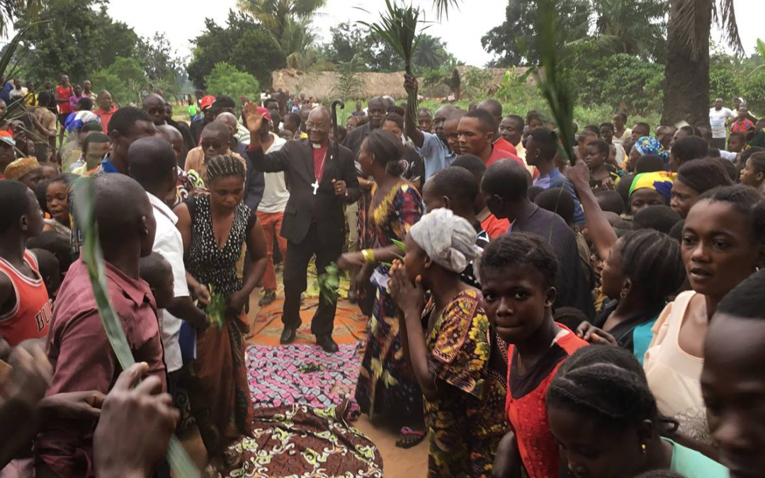 Bishop visits remote areas of Congo for first time